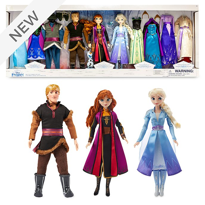 Disney Store Frozen Deluxe Doll Gift Set