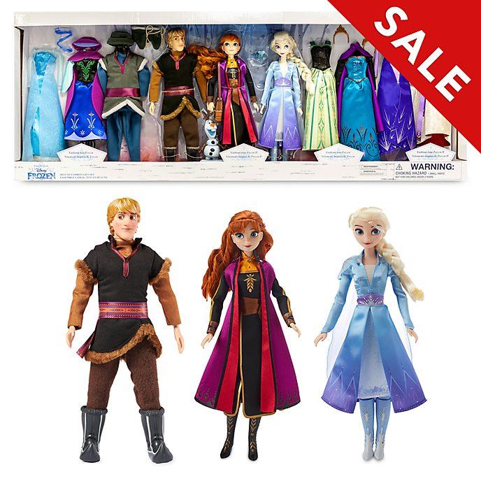 Disney Store Frozen Deluxe Doll Gift Set