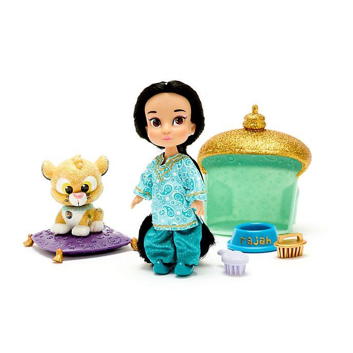 Set de juego muñecos en miniatura Jasmine, Colección Animators, Disney Store