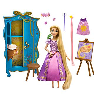 Disney Store - Rapunzel - Neu verföhnt - Rapunzel - Spielset mit Schminktisch