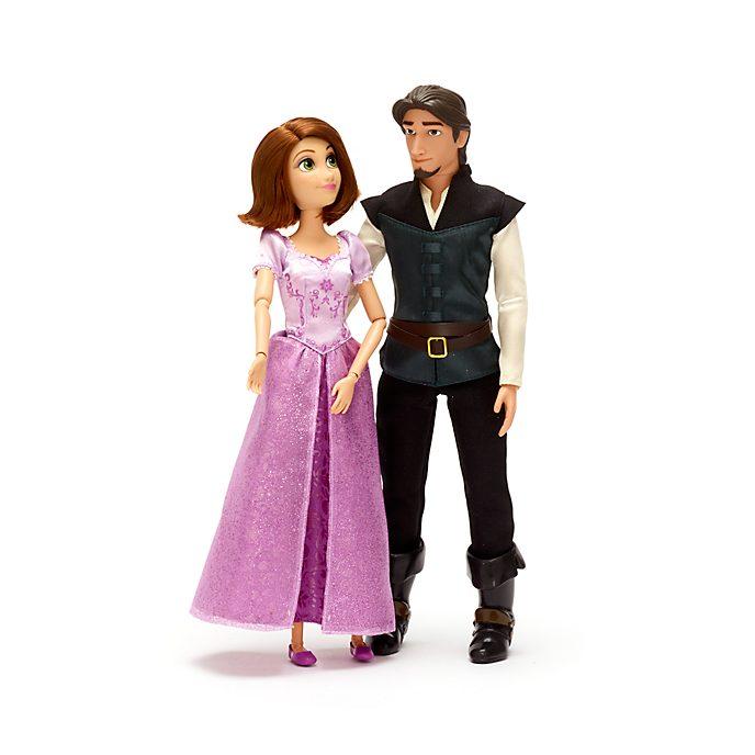 Set muñecos Rapunzel y Flynn, Disney Store