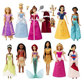 Disney Store Disney Princess Dolls, Set of 11