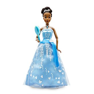 Disney Store Tiana Premium Doll with Light-Up Dress