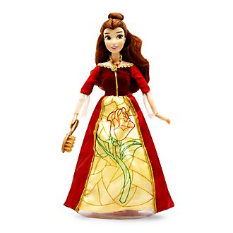 Disney Store Belle Premium Doll with Light-Up Dress