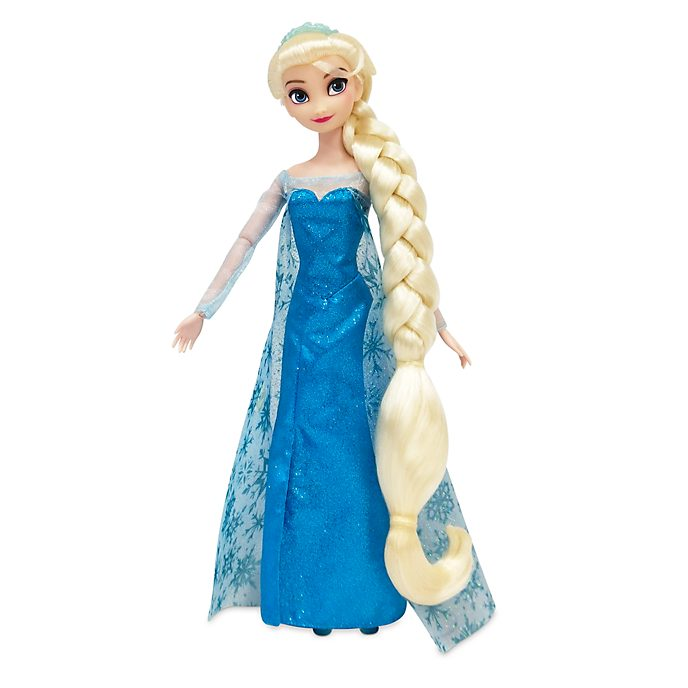 Disney Store Elsa Hair Play Doll, Frozen