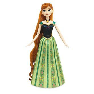 Disney Store - Die Eiskönigin - völlig unverfroren - Anna - Frisierpuppe