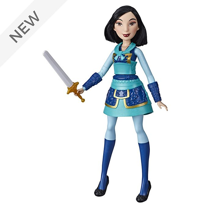 Hasbro Mulan Warrior Moves Doll
