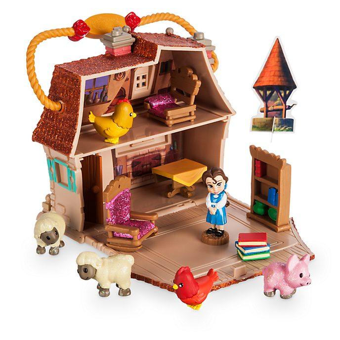Disney Store Coffret de jeu Micro Belle, Animator Littles