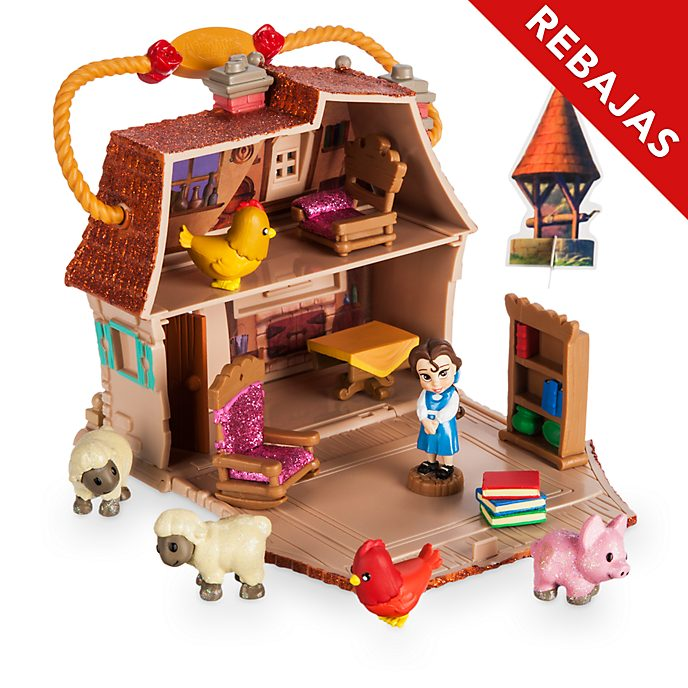 Microset juego Bella, colección Littles, Disney Animators, Disney Store