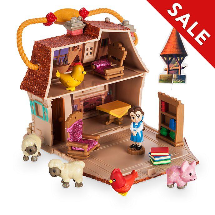 Disney Store Belle Micro Playset, Disney Animators' Collection Littles
