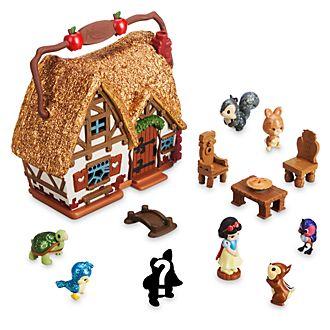 Microset juego Blancanieves, colección Littles, Disney Animators, Disney Store