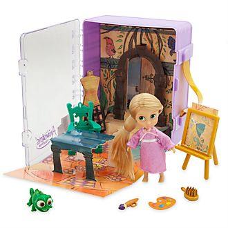 Disney Store Disney Animators' Collection Rapunzel Playset