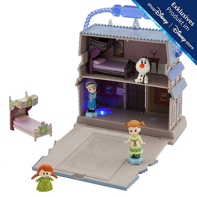 Disney Store - Die Eiskönigin - völlig unverfroren Spielset - Disney Animators Collection Littles