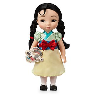 Disney Store - Disney Animators Collection - Mulan Puppe