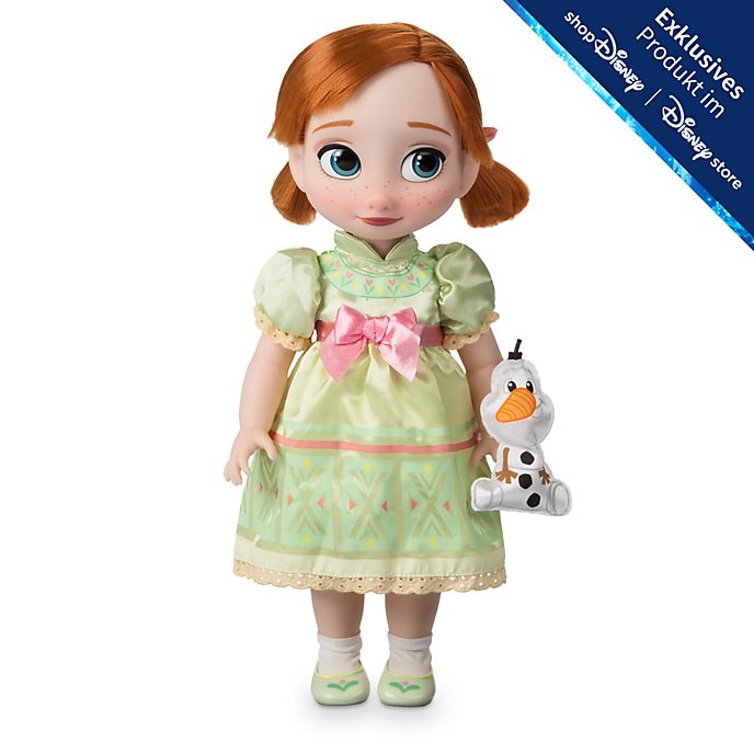 Disney Store - Disney Animators Collection - Die Eiskönigin - völlig unverfroren - Anna Puppe