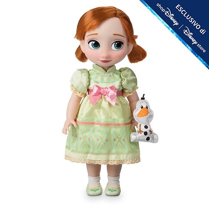 Bambola Animator Anna Frozen - Il Regno di Ghiaccio Disney Store