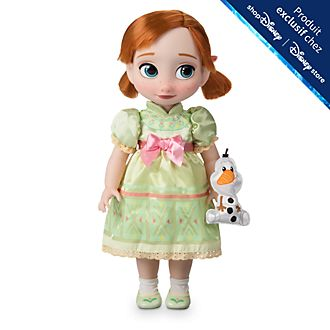 Disney Store Poupée Anna Disney Animators, La Reine des Neiges