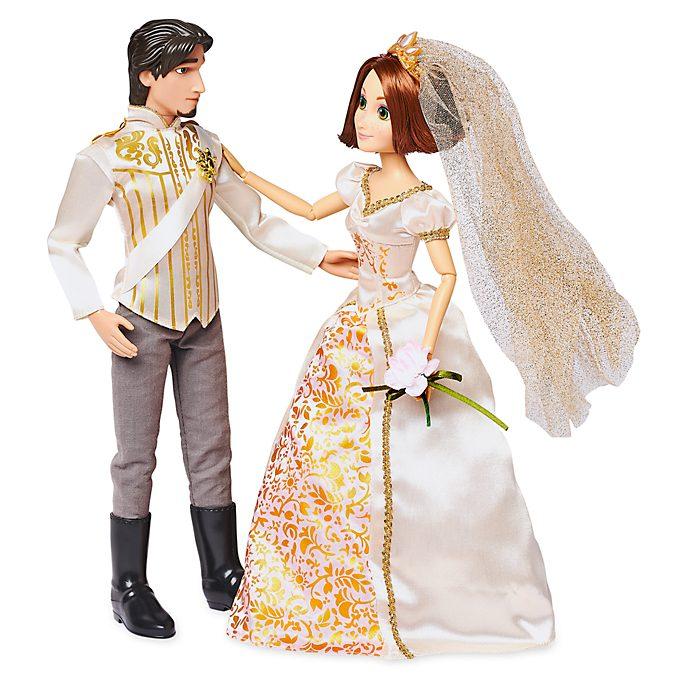 Set muñecas boda Rapunzel y Eugene, Disney Store