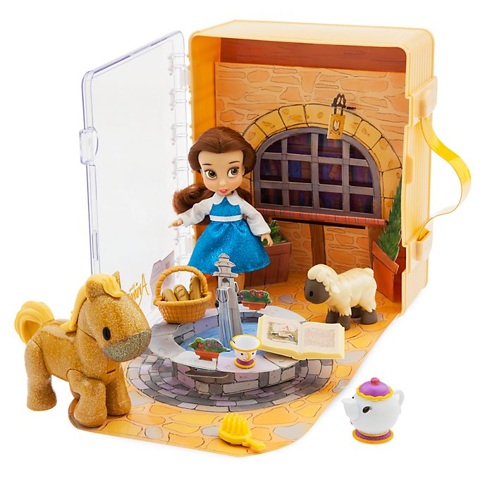 Disney Store Disney Animators' Collection Belle Playset
