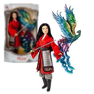 Muñeca edición limitada Mulán, Disney Store