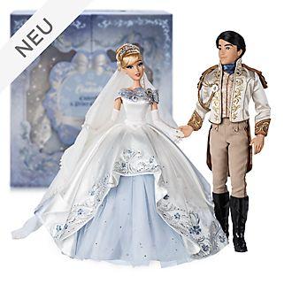 Disney Store - Cinderella und Prinz Charming - Puppenset in limitierter Edition