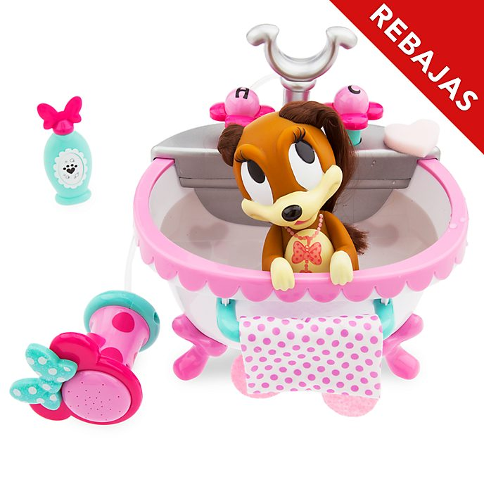 Set de baño mascotas Minnie Mouse, Disney Store