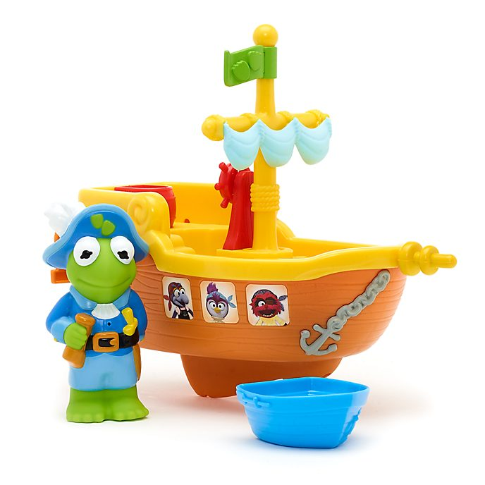 Barca dei pirati per bagnetto Kermit Muppet Babies Disney Store