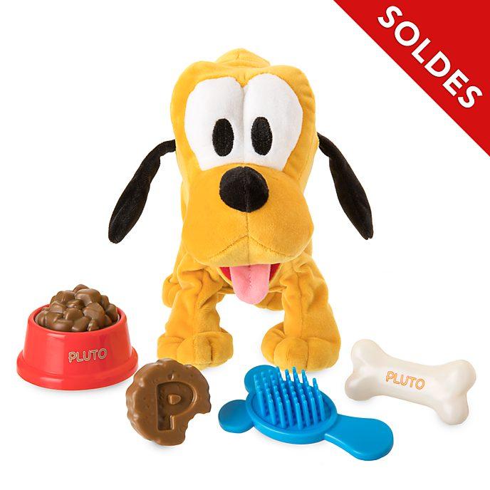 Disney Store Peluche moyenne Pluto interactive