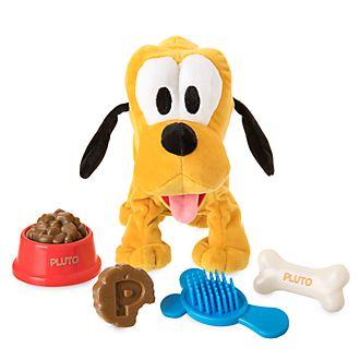 Disney Store Pluto Interactive Medium Soft Toy
