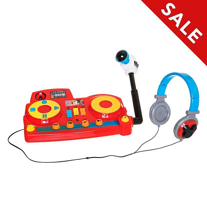 Disney Store Mickey Mouse DJ Playset