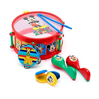 Disney Store Mickey and Friends Drum Set