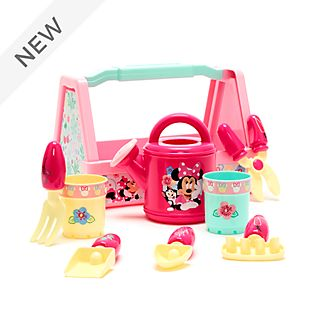 Disney Store Minnie Mouse Gardening Playset
