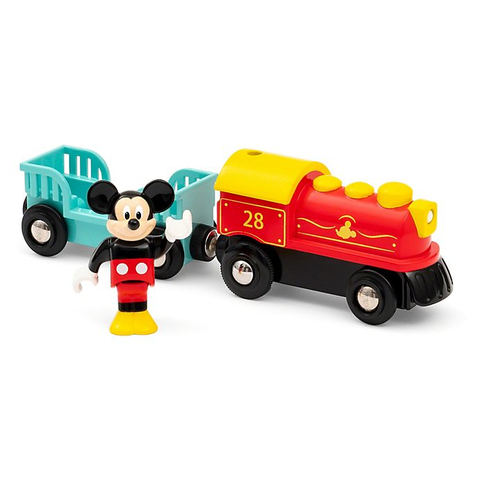 Brio Mickey Mouse Toy Train Set