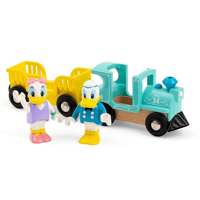 Set tren juguete Donald y Daisy, Brio