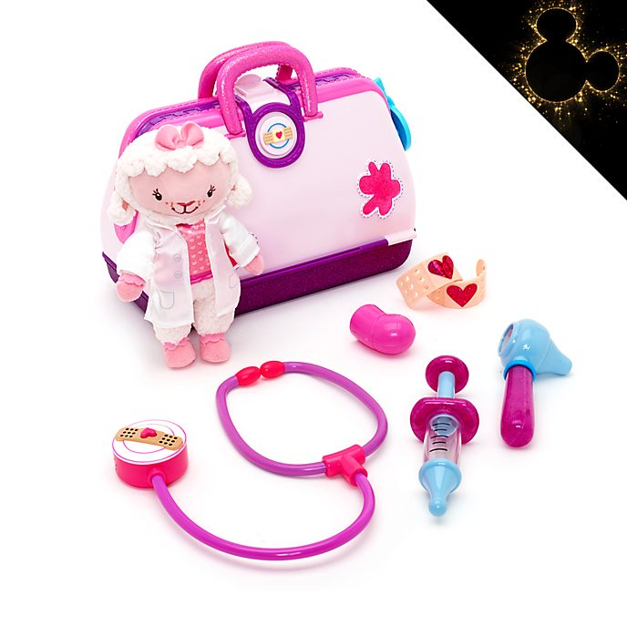 Disney Store Doc McStuffins Toy Hospital With Lambie
