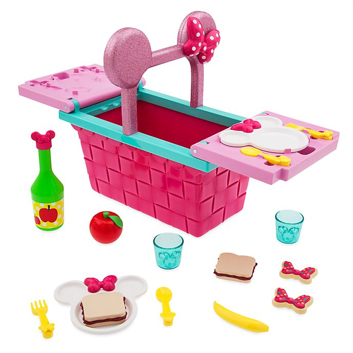 Disney Store - Minnie Maus - Picknickkorb-Spielset