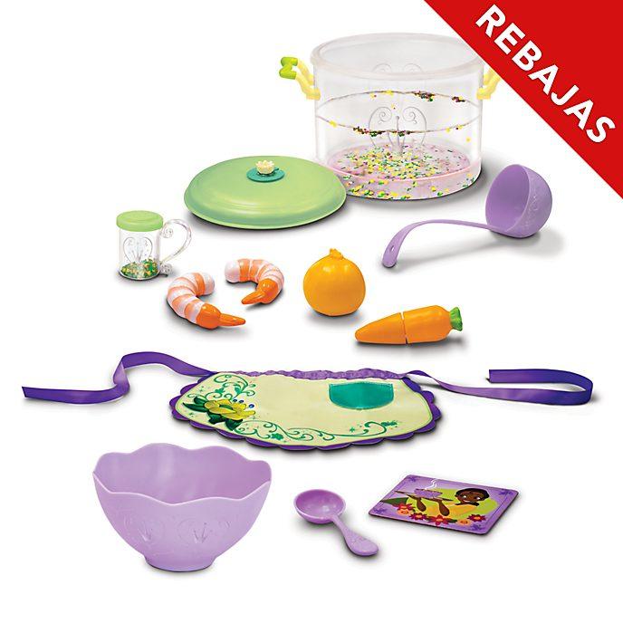 Set juego cocina Tiana y el Sapo, Disney Store