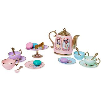 Disney Store Disney Animators' Collection Teatime Playset
