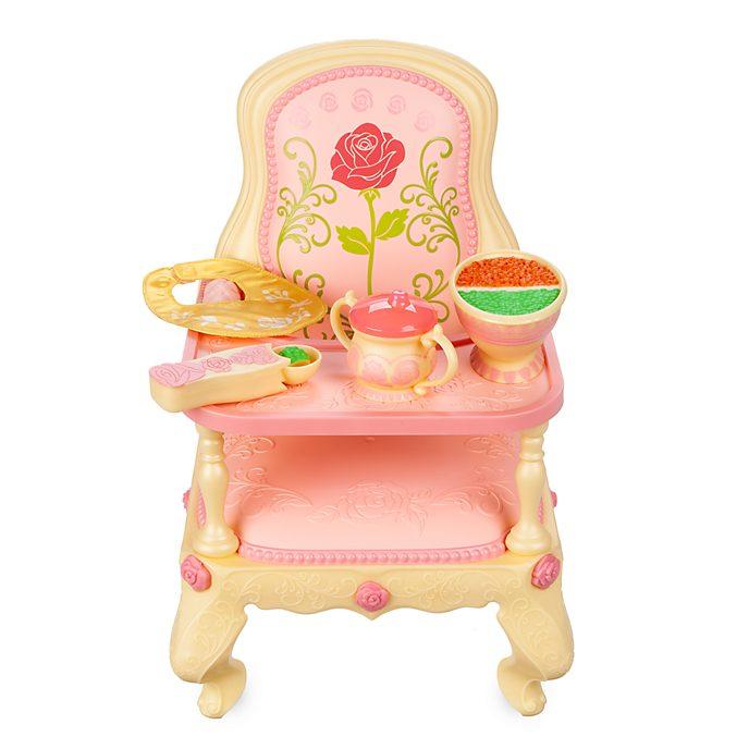 Disney Store Ensemble chaise haute pour poupée Bébé Belle Animator