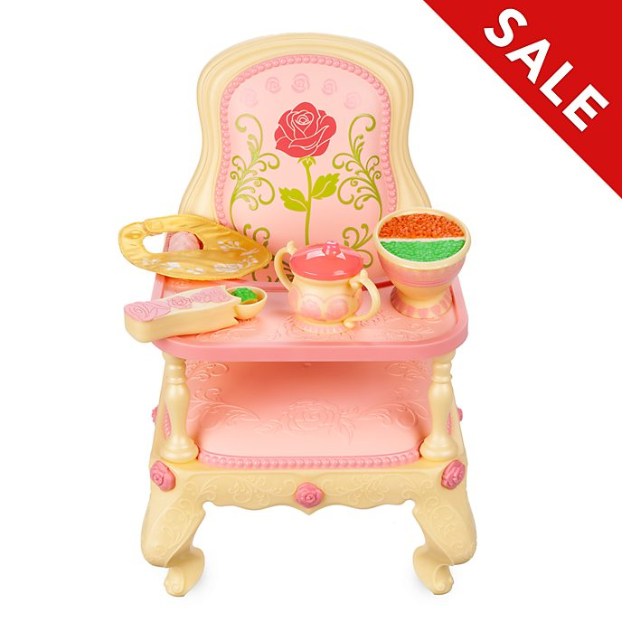 Disney Store Belle Baby Doll High Chair Set, Disney Animators' Collection