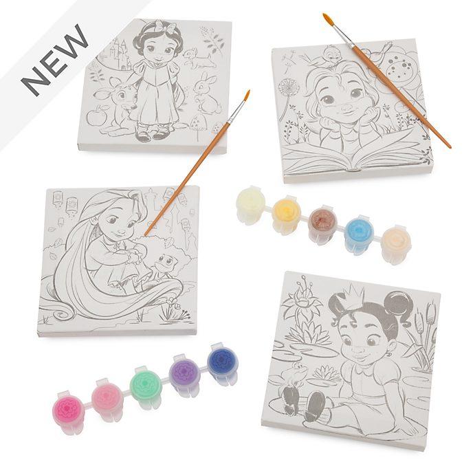 Disney Store Disney Animators' Collection Canvas Paint Set