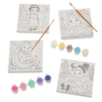 Disney Store Disney Animators' Collection Canvas Paint Set