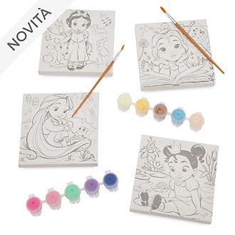 Set pittura con tela collezione Disney Animators Disney Store