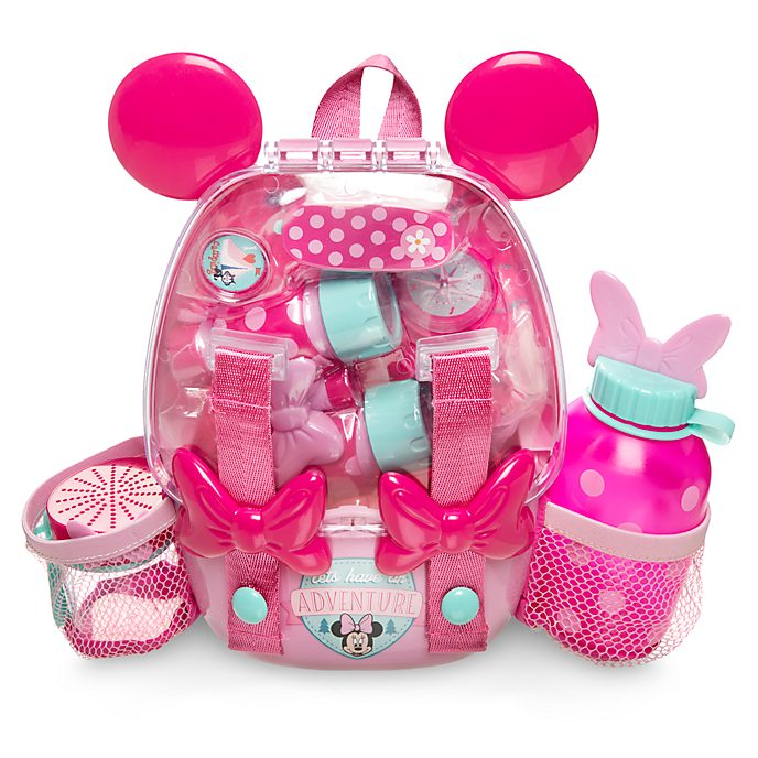 Disney Store Minnie Mouse Explorer Backpack Playset