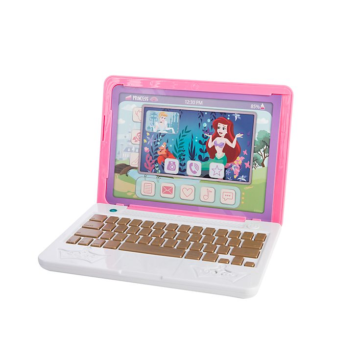 Jakks Disney Princess Click & Go Play Laptop