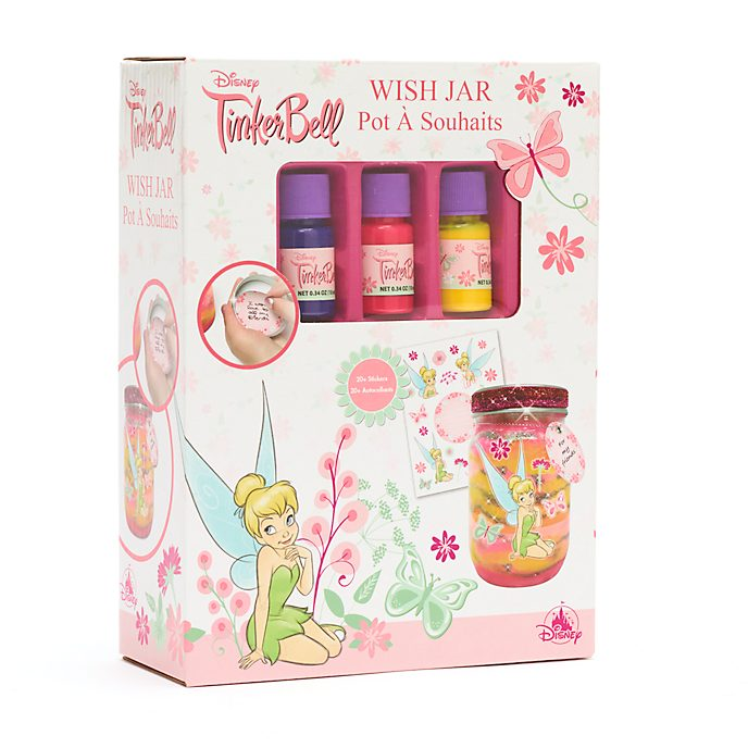 Disney Store Tinker Bell Wish Jar
