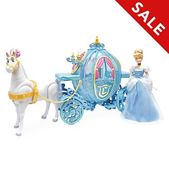 Disney Store Cinderella Carriage Playset