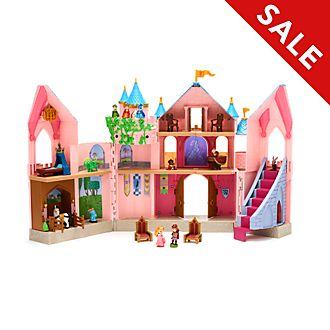 Disney Store Sleeping Beauty Deluxe Castle Playset, Disney Animators' Collection