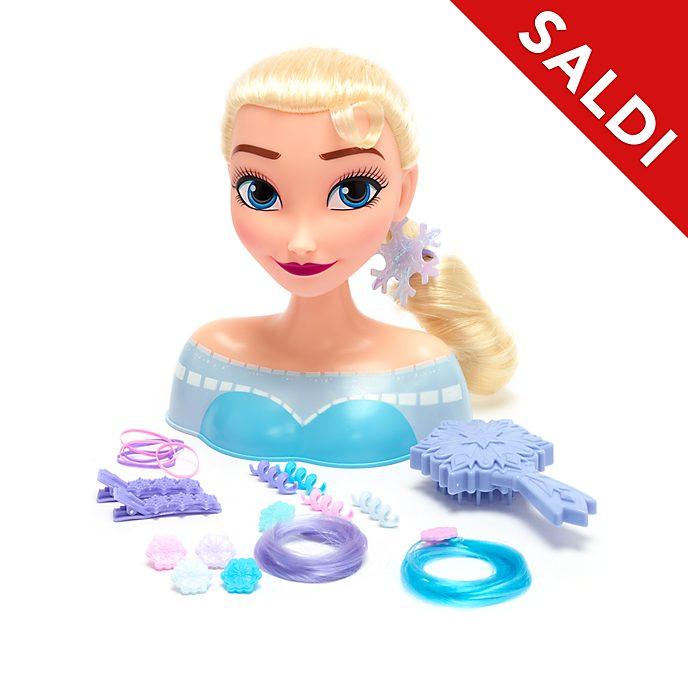 Testa da pettinare Elsa Frozen - Il Regno di Ghiaccio Disney Store