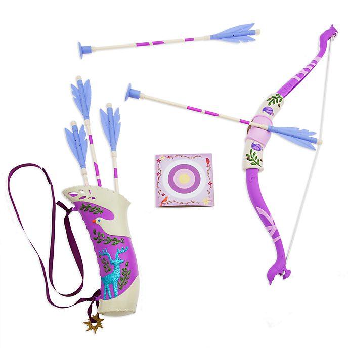 Set de arco y flechas Rapunzel, Enredados, Disney Store